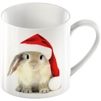 Creative Tops Mug Collection Mug Rabbit Christmas