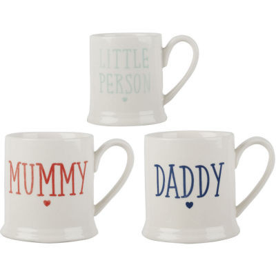 Creative Tops Mug Collection Mug Set of 3 Family