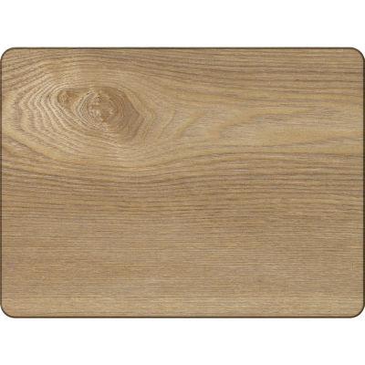 Creative Tops Naturals Oak Veneer Rectangular Placemat Set of 4