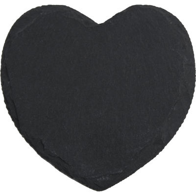 Creative Tops Naturals Slate Heart Coaster Set of 4