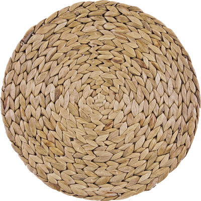 Creative Tops Naturals Water Hyacinth Round Placemat Set of 4