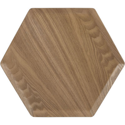 Creative Tops Naturals Willow Wood Tray Hexagonal