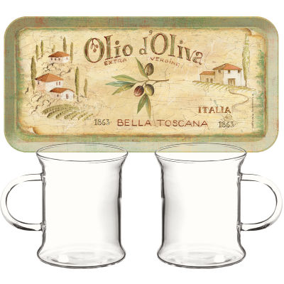 Creative Tops Olio d'Oliva Tea For Two Set