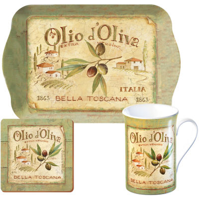 Creative Tops Olio d'Oliva Time For Tea Gift Set