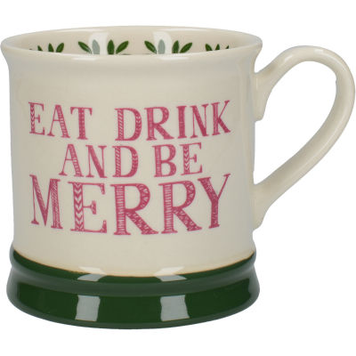 Creative Tops Stir It Up Mug Celebrate Eat Drink & Be Merry