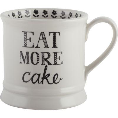 Creative Tops Stir It Up Mug Eat More Cake