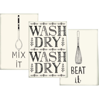 Creative Tops Stir It Up Tea Towel Set of 3