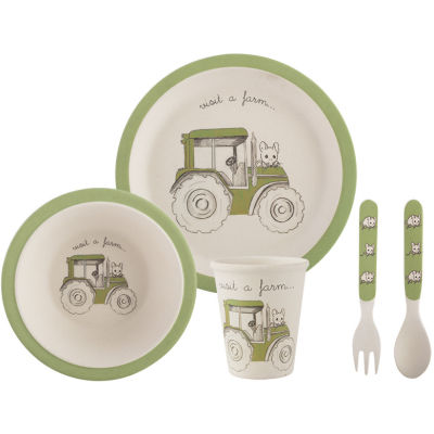Creative Tops Visit A Farm Dinner Set Tractor