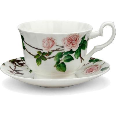 David Austin Roses  English Rose Breakfast Cup & Saucer English Rose
