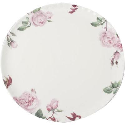 David Austin Roses  English Rose Cake Plate English Rose