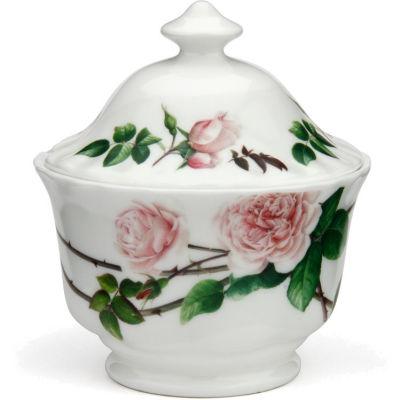 David Austin Roses  English Rose Covered Sugar Bowl English Rose