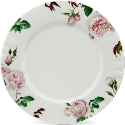 David Austin Roses  English Rose Plate 27cm English Rose