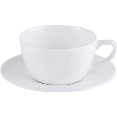 DPS Tableware Connoisseur Fine Bone China Retail  Cappuccino Saucer 15cm