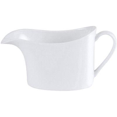 DPS Tableware Connoisseur Fine Bone China Retail  Sauce Boat 0.4L