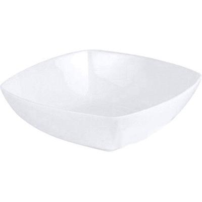 DPS Tableware Connoisseur Fine Bone China Retail  Square Bowl 20cm