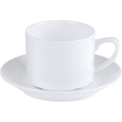 DPS Tableware Connoisseur Fine Bone China Retail  Stacking Teacup 0.2L