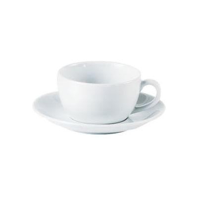 DPS Tableware Porcelite Standard Vitrified Porcelain Bowl Shape Cappuccino Cup 0.34L