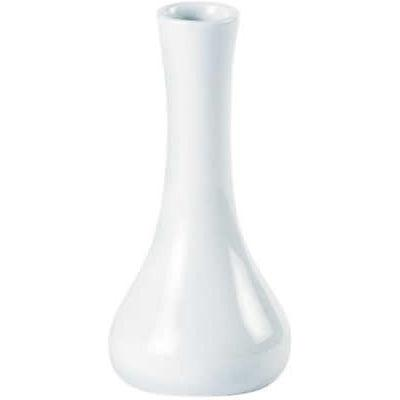 DPS Tableware Porcelite Standard Vitrified Porcelain Bud Vase 12cm