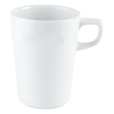 DPS Tableware Porcelite Standard Vitrified Porcelain Conical Stacking Mug 0.44L