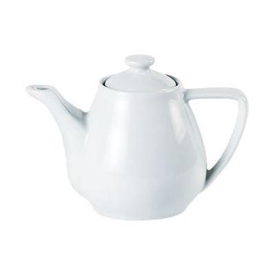 DPS Tableware Porcelite Standard Vitrified Porcelain Contemporary Coffee Pot 0.31L