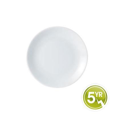 DPS Tableware Porcelite Standard Vitrified Porcelain Coupe Plate 24cm