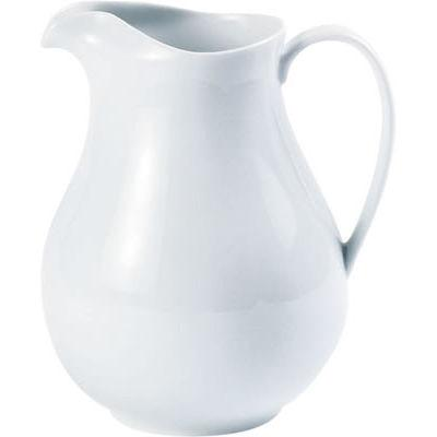 DPS Tableware Porcelite Standard Vitrified Porcelain Ice-Lipped Water Jug 1.5L