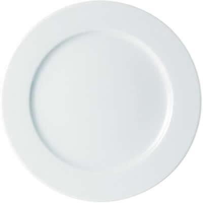 DPS Tableware Porcelite Standard Vitrified Porcelain Large Presentation Plate 32cm