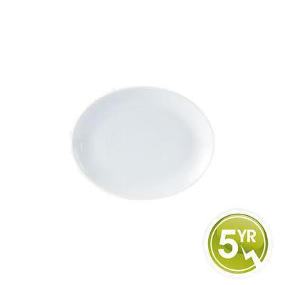 DPS Tableware Porcelite Standard Vitrified Porcelain Oval Plate 21cm