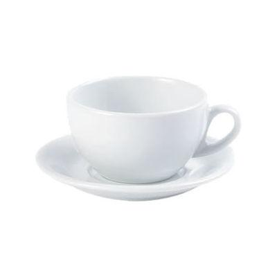 DPS Tableware Porcelite Standard Vitrified Porcelain Roma Cup 0.34L