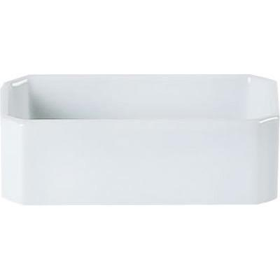 DPS Tableware Porcelite Standard Vitrified Porcelain Sugar Packet Holder 12x6cm