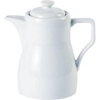 DPS Tableware Porcelite Standard Vitrified Porcelain Traditional Coffee Pot 0.31L