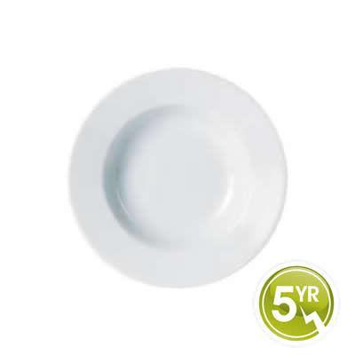 DPS Tableware Porcelite Standard Vitrified Porcelain Traditional Pasta Plate 30cm
