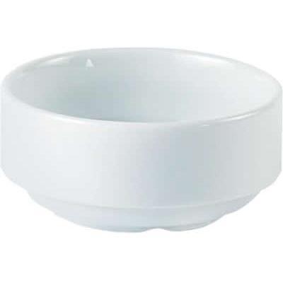 DPS Tableware Porcelite Standard Vitrified Porcelain Unhandled Soup Cup 0.28L