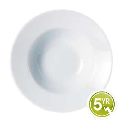 DPS Tableware Porcelite Standard Vitrified Porcelain Winged Pasta Plate 30cm