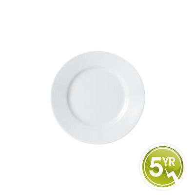 DPS Tableware Porcelite Standard Vitrified Porcelain Winged Plate 19cm