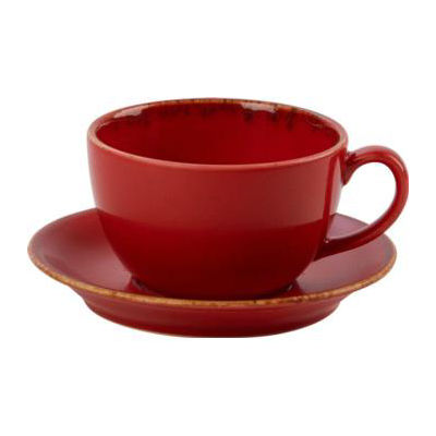 DPS Tableware Seasons Bowl Shape Cup 0.25L Magma Red