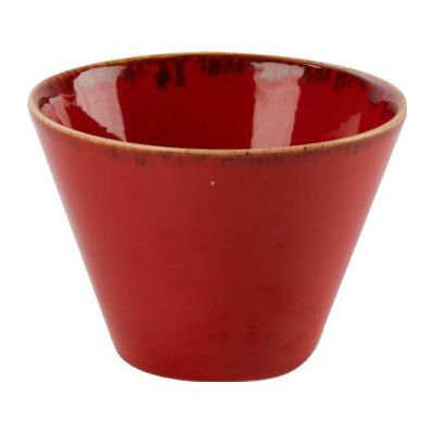 DPS Tableware Seasons Conic Bowl 11.5cm Magma Red