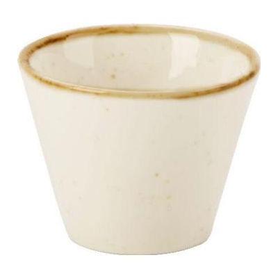 DPS Tableware Seasons Conic Bowl 5.5cm Oatmeal Cream