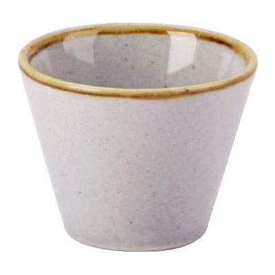 DPS Tableware Seasons Conic Bowl 5.5cm Stone Grey