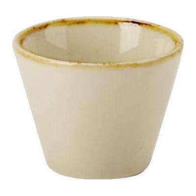 DPS Tableware Seasons Conic Bowl 5.5cm Wheat Cream