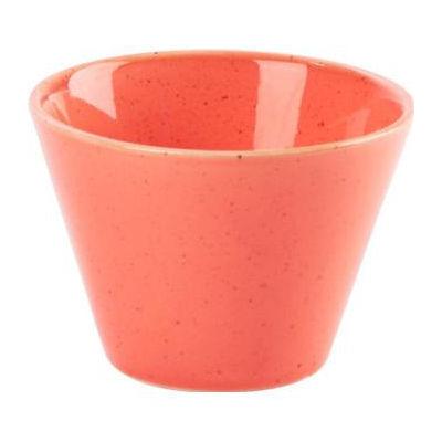 DPS Tableware Seasons Conic Bowl 9cm Coral Orange
