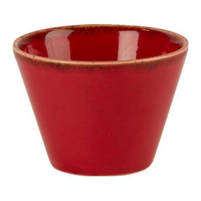 DPS Tableware Seasons Conic Bowl 9cm Magma Red