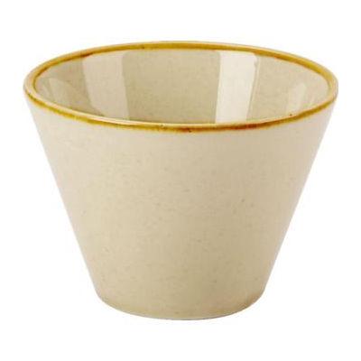 DPS Tableware Seasons Conic Bowl 9cm Wheat Cream