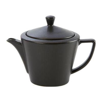 DPS Tableware Seasons Conic Tea Pot 0.5L Graphite Black