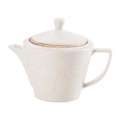 DPS Tableware Seasons Conic Tea Pot 0.5L Oatmeal Cream