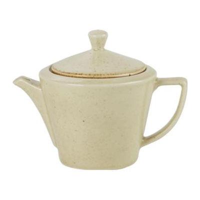 DPS Tableware Seasons Conic Tea Pot 0.5L Wheat Cream