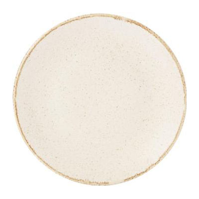 DPS Tableware Seasons Coupe Plate 18cm Oatmeal Cream