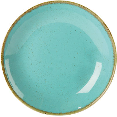 DPS Tableware Seasons Coupe Plate 18cm Sea Spray Blue