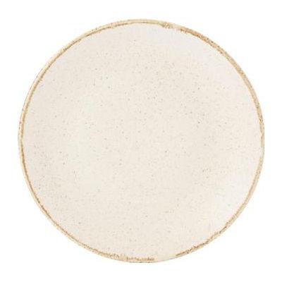 DPS Tableware Seasons Coupe Plate 24cm Oatmeal Cream