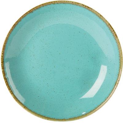 DPS Tableware Seasons Coupe Plate 24cm Sea Spray Blue